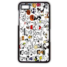 Snoopy Collage TATUM-9757 Blackberry Phonecase Cover For Blackberry Q10, Blackberry Z10