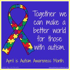 Gearing up for National Autism Awareness Month--Freebies by Autism Classroom News: http://www.autismclassroomnews.com