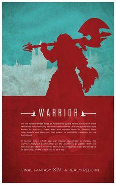 Warrior [Final Fantasy XIV] by fredjully