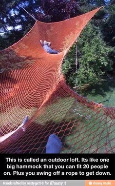 DIY hammock, for multiple!