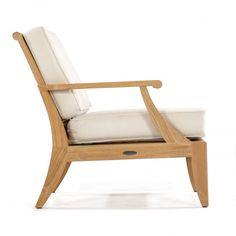 Laguna Teak Sofa and Lounge Chair Set - Westminster Teak Outdoor Furniture