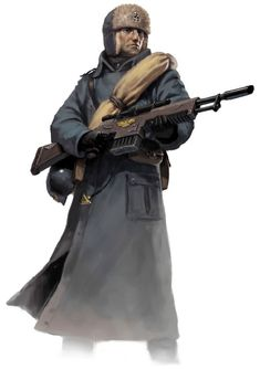 valhallan imperial guard - Google Search