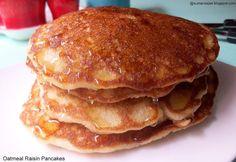 Eggfree Oatmeal Raisin Pancakes