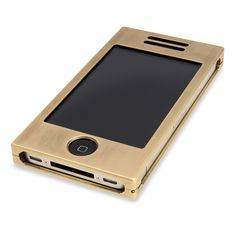 Solid Brass iPhone Case