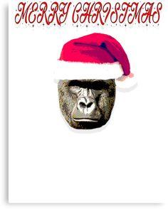 HARAMBE MERRY CHRISTMAS HAPPY HOLIDAYS