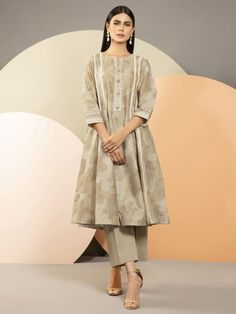 Salwar Pants, Frock Fashion, Frocks, Dress
