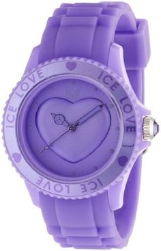Ice-Watch Ice-Love Lavender Dial Unisex watch #LO.LR.U.S.11 Ice-Watch. $69.38. Polished purple hands and sweep seconds. Water Resistant. Japanese quartz movement. Save 44%!