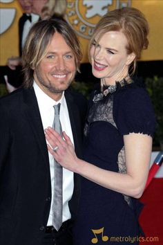 Keith Urban and Nicole Kidman:  They always look so happy together