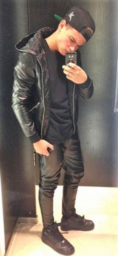 young leather lad