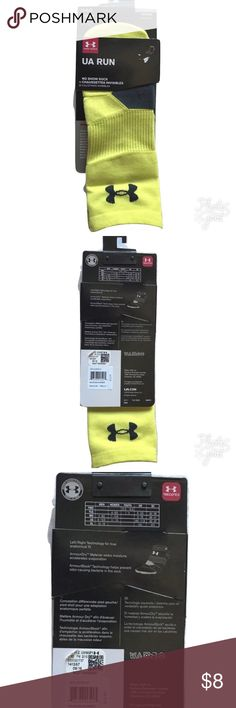 NEW Men's Under Armour No Show Run Socks NEW Men's Under Armour No Show Run Socks Large 9-12.5  MSRP on package is $12.99  Nylon/Spandex Size Large Men's Shoe Size 9-12.5   I try my very best to capture the correct color/shade.  The actual shade may vary in person.   Thank you so much! Under Armour Underwear & Socks Athletic Socks