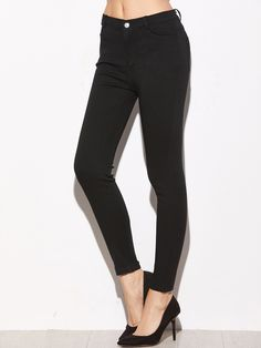 17$  Buy now - http://di8el.justgood.pw/go.php?t=13608 - Black Skinny Ankle Jeans 17$