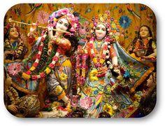 Today's Special Darshan (Sri Krishna Janmashtami) Sri Sri Radha Vrindavanchandraji @ISKCONNVCC, Pune