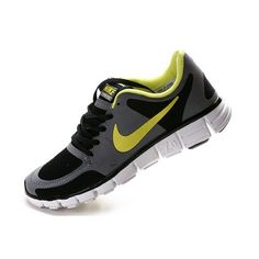 1a67b1c259ee Cheap Authentic Nike Free Mens Running Shoes Grey Black And Yellow Sneaker  Sale Outlet Store