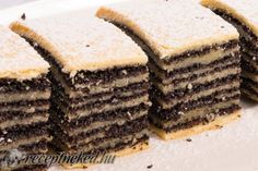 Érdekel a receptje? Kattints a képre! Küldte: Torte Cake, Bread And Pastries, Kaja, Cake Cookies, Cornbread, Baked Goods, Tiramisu, Biscuits, Deserts