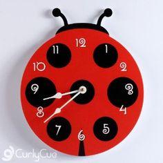 Ladybug Clock