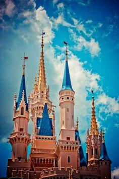 Cinderella's Castle - Disney World.