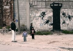 unurth | street art - Banksy in Gaza