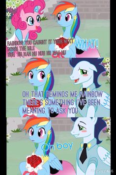 Rainbow dash and Sorin I love this part Watch bride of discord on YouTube or on here
