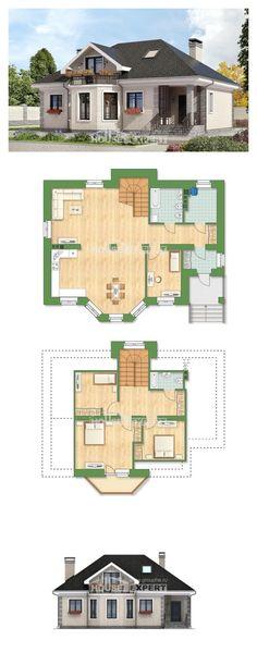 Ev villa projesi 150-013-R | House Expert