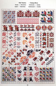 Ukrainian and Romanian embroidery of Bukovyna-Bucovina Blackwork Embroidery, Hand Embroidery Videos, Folk Embroidery, Embroidery Patterns, Cross Stitch Borders, Cross Stitch Patterns, Wedding Day Timeline, Creative Embroidery, Loom Beading