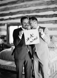 our wedding day photo by elizabeth messina #gaywedding