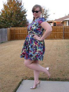 DIY FATSHION: FATSHION FACEOFF: SIMPLY BE DRESS