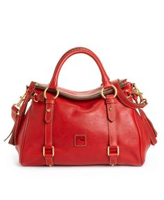 Florentine Vachetta Small Leather Satchel. Dooney   Bourke Handbag ... 3366650a9b9c0