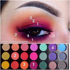 best all natural makeup Makeup Eye Looks, Eye Makeup Art, Love Makeup, Makeup 101, Makeup Goals, Makeup Inspo, Makeup Morphe, Make Up Videos, Purple Eyeshadow