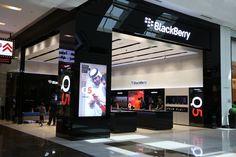 BlackBerry flagship store by Pope Wainwright, Dubai – United Arab Emirates