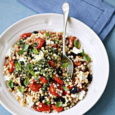 Fregola Sarda Pasta with Tomatoes - Health.com