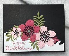 Stampin Up Botanical Blooms from the Occasions Catalog.