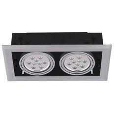 Fusion 18 Watt Twin Gimbal LED Downlight - Display LED Downlights
