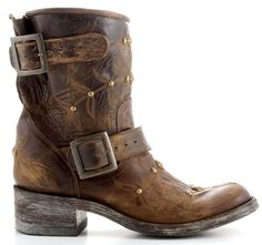 Womens Old Gringo Biker Boots.  Love this brand, so comfy.