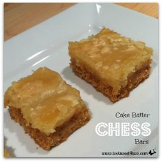 2 Cake Batter Chess
