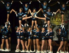 cheer stunts | All Star Cheer Stunts Allstar cheer is unique in