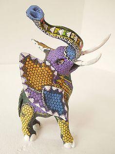Oaxacan elephant wood carving #followitfindit