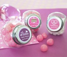 Custom Sweet Sixteen Candy Jars image