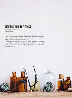 Homemade vanilla extract / Gift idea Christmas from Call Me Cupcake