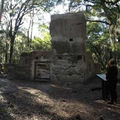 Sea Pines - Hilton Head, Hilton Head Island, South Carolina — by Kevin Ratliff. The Plantation House @ Baynard Ruins