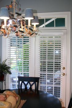 French Door Blinds #woodblinds