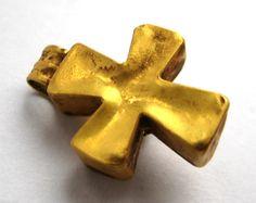 Finest circa.600 A.D British Found Anglo Saxon Period Gold & Blue Gem Set Cross | eBay