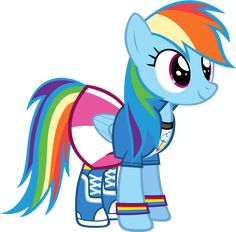 Rainbow Dash - Equestria Girls Clothing by Zacatron94 on deviantART