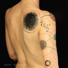 © @ustrehova  TBT September 2015  CONCEPT: Abstract cosmos for Sonya.  St Petersburg  ustrehova.tattoo@gmail.com  #tattrx #ustrehova #tbt #тату #дизайн #узор #СанктПетербург #Россия #modernart #contemporaryart #abstractart #abstract #abstracttattoo #cosmos #galaxy #design #patterns #artlovers #bodyart #ink #tattoos #tattooed #tattooartist #artgallery