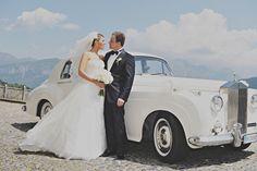 Roles Royce. Design by The Lake Como Wedding Planner #lakecomo #wedding #weddingplanner