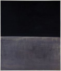 Mark Rothko, Black on Grey, 1970