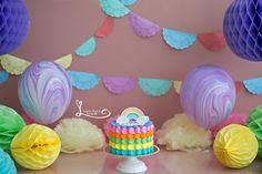 Session One Years. Baby Girl. Session Smash The Cake First Birthday Cake Smash Session Barra da Tijuca - Rio de janeiro. www.lucianathomaz.com/blog