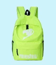 5940a96b59e Fairy Tail Backpack for Girls Fairy Tale Bag for School Canvas Japan Anime  Printing Pattern SchoolBag for Middle School Students