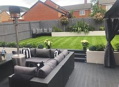 - Small garden design ideas are not simple to find. The small garden design is unique from other garden designs. Space plays an essential role in small . Back Garden Design, Garden Design Plans, Modern Garden Design, Modern Design, Contemporary Garden, Back Garden Landscaping, Backyard Patio Designs, Landscaping Ideas, Minimalist Garden