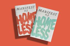 Manifest (cover design + product photo)