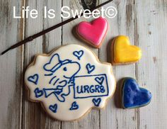 Valentine's Day cookies by Life Is Sweet